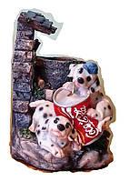 Фонтан Собака декоративный комнатный собачка на дворике Размер 21=16=15