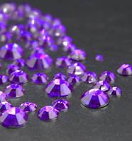 Стразы для ногтей 2-6 мм, 1 баночка, фиолетовые, фото 1