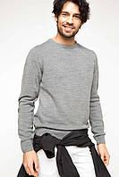 Серый мужской свитер De Facto / Де Факто, фото 1