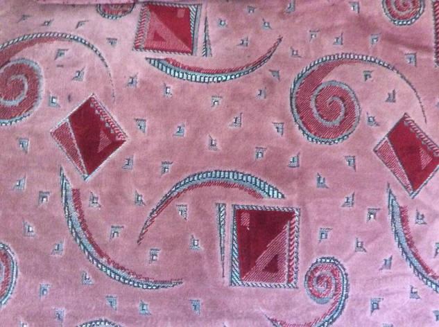 Гобеленовое покрывало на кровать 160х220 розового цвета, фото 2