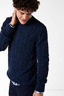 Синий мужской свитер De Facto / Де Факто, фото 1