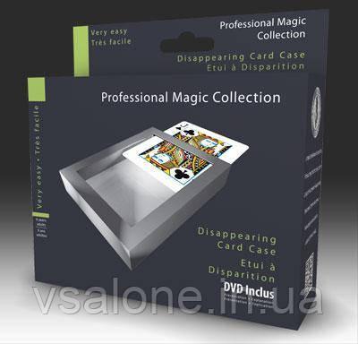 OID Magic Фокус «ИСЧЕЗАЮЩАЯ КАРТОЧНАЯ КОРОБКА» С DVD