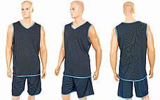 Форма баскетбольная мужская двусторонняя однослойная Ease LD-8801-3, фото 2