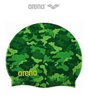 Силиконовая шапочка для плавания Arena Print 2 Camou (Green)