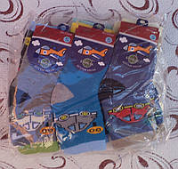 """Махровые носки """"Машина"""", р. 1-2 года"""