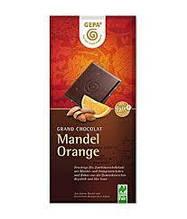 Шоколад Gepa Mandel Orange Schokolade 100 г