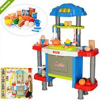 Детская игрушечная кухня электронная с духовкой 77021 26 предметов