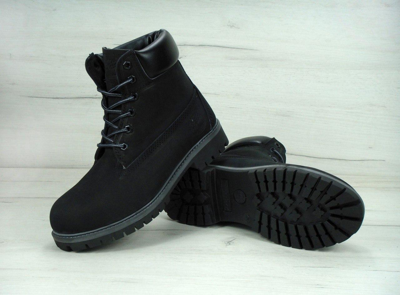 58b0a2966664 Зимние ботинки Timberland Black, Женские ботинки с иск. мехом - Интернет- магазин обуви