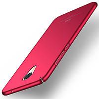 Чехол оригинальный MSVII для Meizu M5 Note бампер red simple