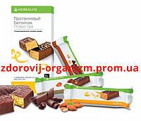 Протеиновые батончики Herbalife Ваниль-миндаль(14 шт)