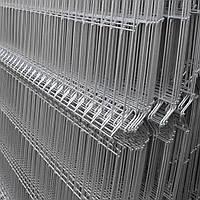 Сварные секции ограждения (оцинкованные) 200х50мм Ø3,0/4,0мм 1,5/2,5м