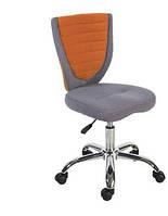 Кресло офисное Poppy, серо-оранжевое (Office4You-ТМ)