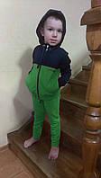 Спортивный костюм для мальчика зеленый