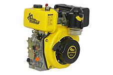 Двигатель дизельный Кентавр ДВУ-300ДШЛ (6 л.с, шлиц, вал 25мм), фото 2