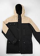 Мужская куртка Feel&Fly ALASKA BEIGE/BLACK, фото 1