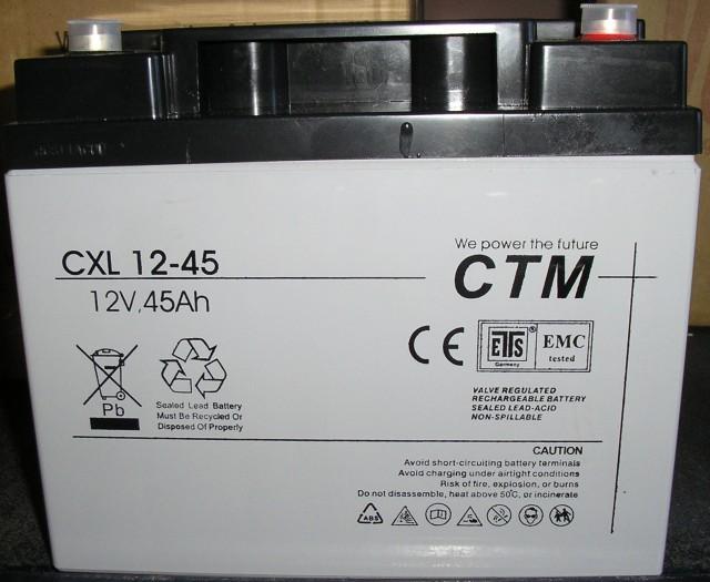 АКБ CTM Polska СXL 45-12