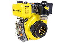 Двигатель дизельный Кентавр ДВУ-300ДШЛЕ (6 л.с., шлиц. вал 25мм, электростарт), фото 2