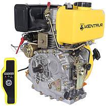 Двигатель дизельный Кентавр ДВУ-300ДШЛЕ (6 л.с., шлиц. вал 25мм, электростарт), фото 3