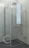 Раздвижные шторки для ванн из стекла
