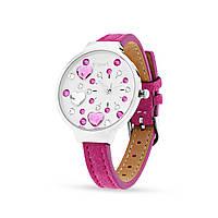 Женские наручные  часы с камнями Swarovski