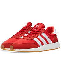 Оригинальные кроссовки Adidas Iniki Runner Red & White