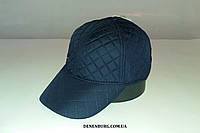 Бейсболка мужская утеплённая TOMMY HILFIGER 155-27 тёмно-синяя, фото 1