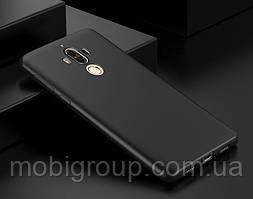 Матовый силиконовый чехол Huawei Mate 9