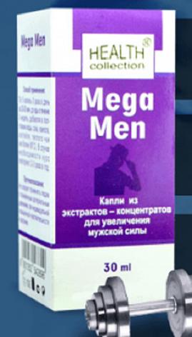 Mega Men - капли для потенции от Health Collection (Мега Мен), 30 мл, фото 2