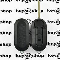Корпус выкидного ключа для PEUGEOT Boxer (Пежо Боксер), 2 кнопки, лезвие  SIP 22