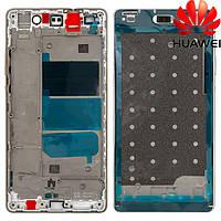 Средняя часть корпуса для Huawei P8 Lite (ALE L21), белая, оригинал
