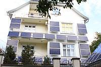 """Сетевая солнечная электростанция 10 кВт """"фасадного типа"""" под """"зеленый тариф"""", фото 1"""