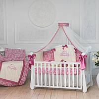 Детский постельный комплект Маленькая Соня Mon Belle 6 и 7 элементов