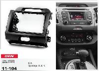 Переходная рамка CARAV 11-104 2 DIN (KIA Sportage)