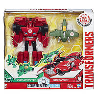 Трансформеры Гирхэд-Комбайнер Transformers Combiner Force Activator Combiners Sideswipe Great Byte Сайдсвайп