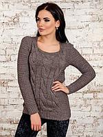 Красивый вязаный женский свитер (6 цветов)