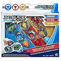 Игрушка волчок Бейблэйд Вибух Beyblade Burst Custom Clash Pack