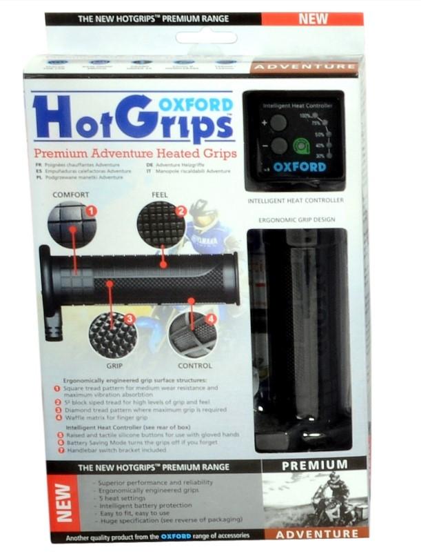 Ручки с подогревом Oxfrod HotGrips Premium Adventure OF690