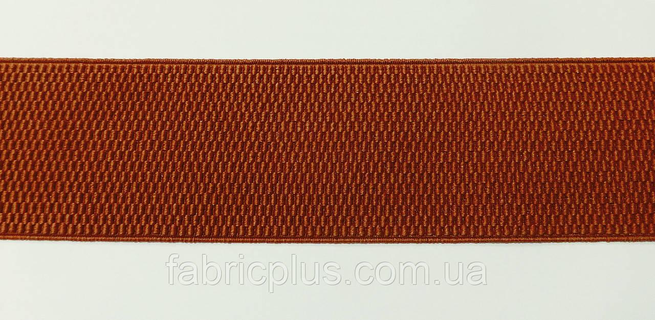 Резинка декоративная 6 см кирпичный