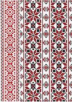 Вафельна картинка український орнамент