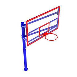 Стенд баскетбольный FIBA (180х105), щит акриловый InterAtletika УТ410.1