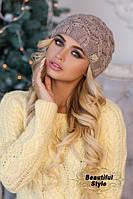 Женская шапка Леруа
