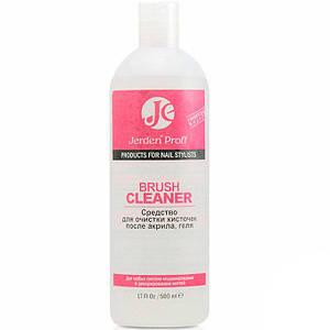 Жидкость для очистки кистей после акрила и геля Jerden Proff BRUSH CLEANER, 500 мл