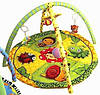 Коврик детский игровой 898-302B подвески погремушки