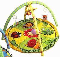 Коврик детский игровой 898-302B подвески погремушки, фото 1