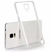 Чехол силиконовый прозрачный для Samsung Note 4, 0.5mm