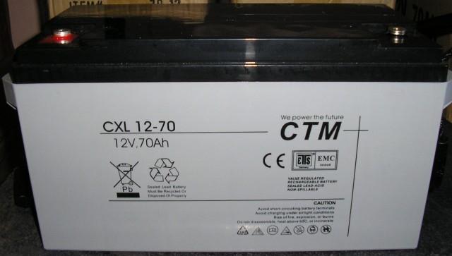 АКБ CTM Polska СXL 70-12