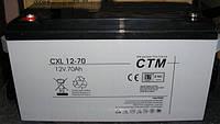 АКБ CTM Polska СXL 70-12, фото 1