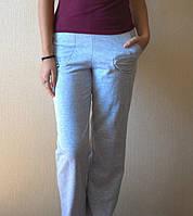 Брюки на байке женские домашние теплые штаны утепленные с начесом хлопковые больших размеров