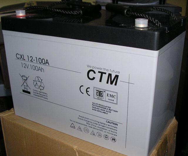 АКБ CTM Polska СXL 100-12