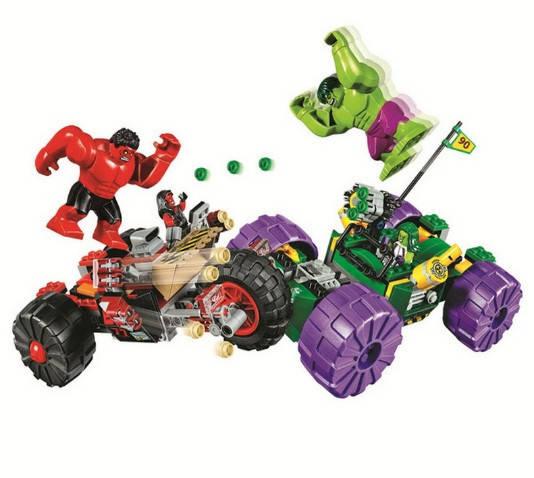 Конструктор Bela 10675 Супергерои Халк против Красного Халка (аналог Lego Super Heroes 76078), фото 2